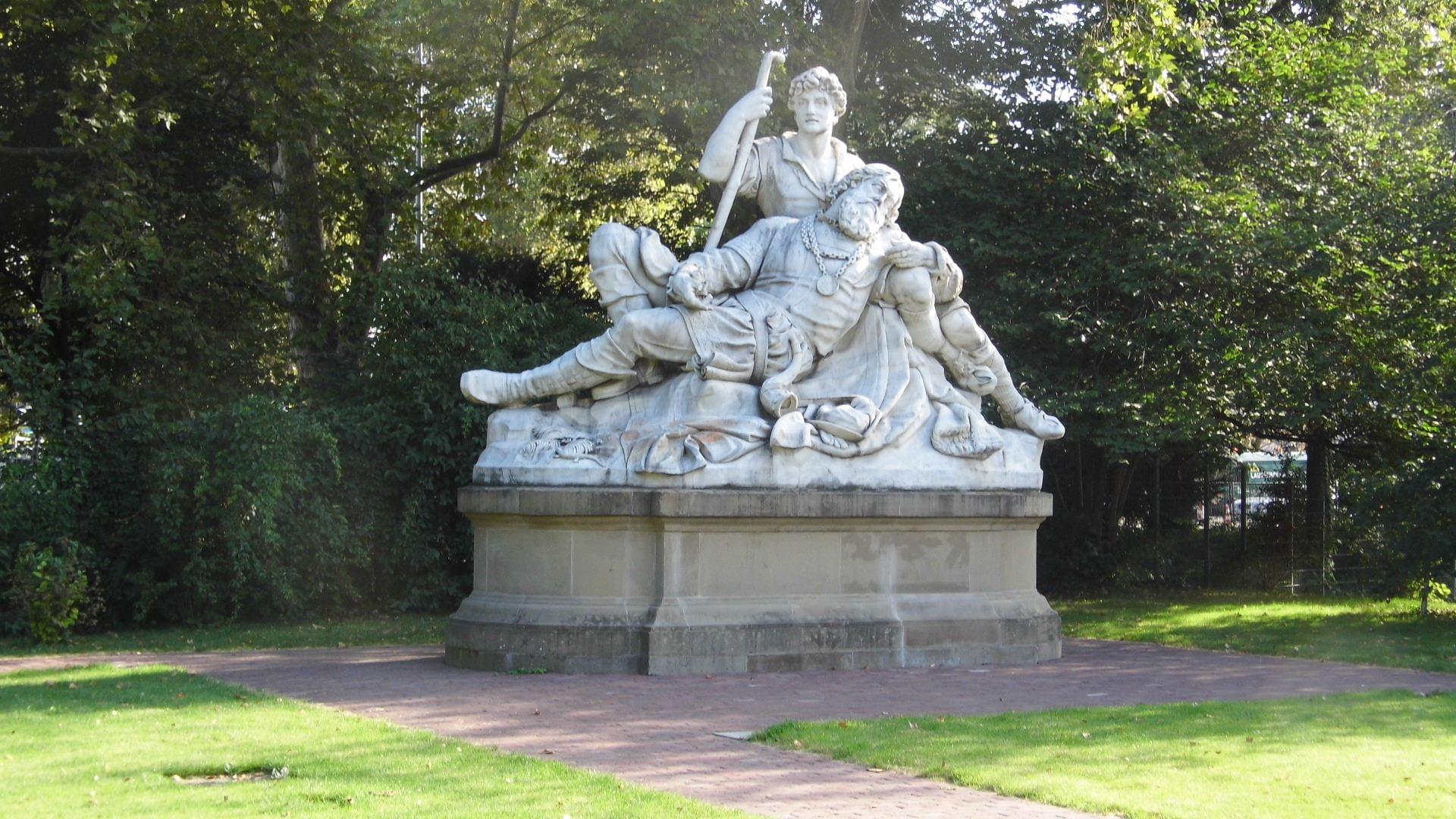 Eberhardsgruppe im Schlossgarten