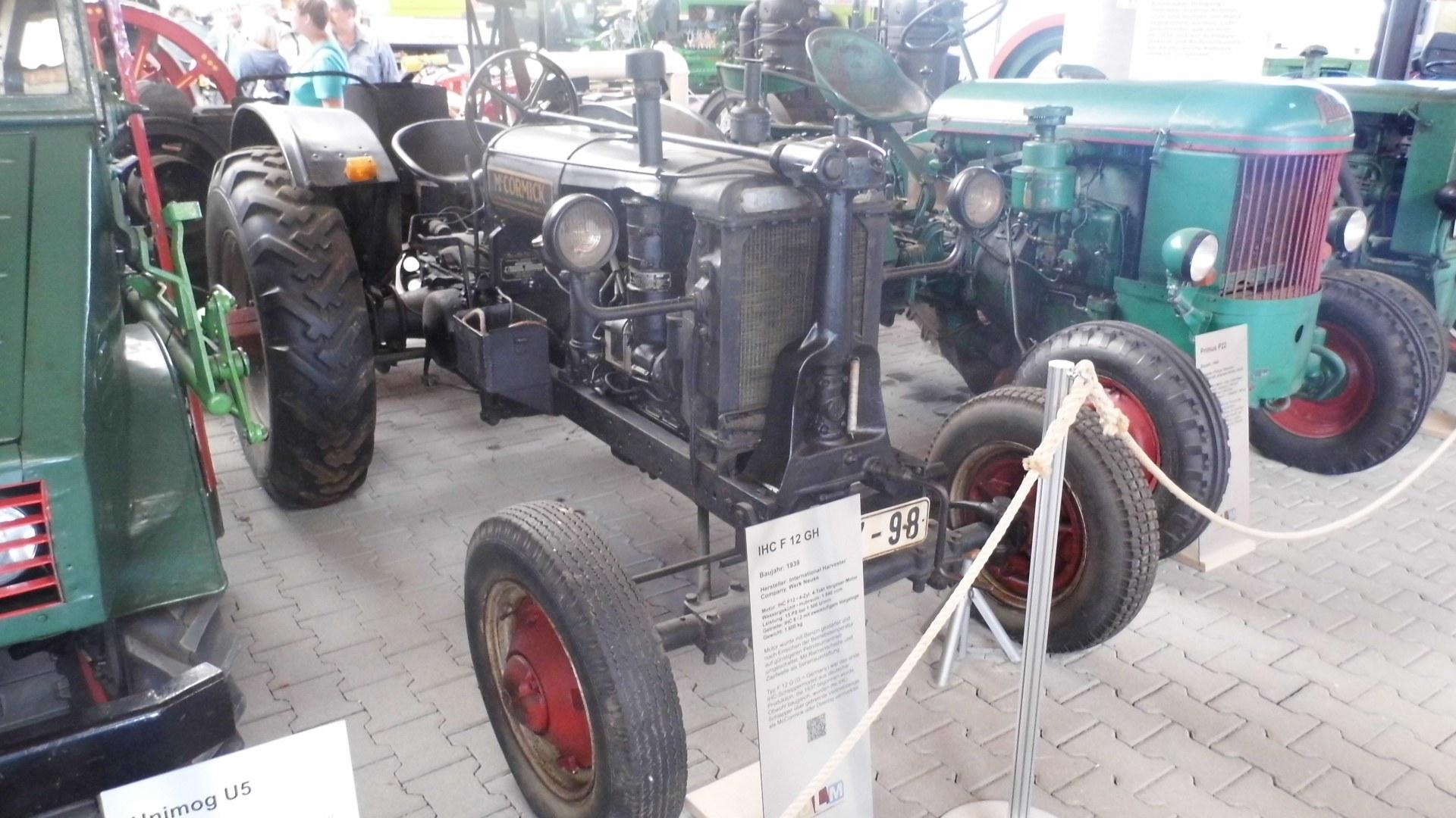 IHC F12 GH Baujahr 1939; erster IHC aus Deutschland