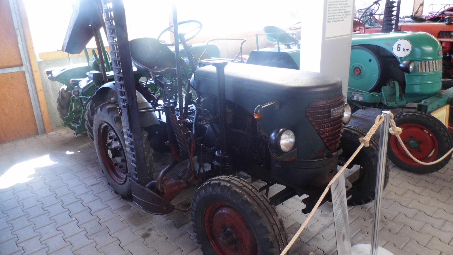 Zanker M1 Baujahr 1949; einziger Schlepper aus dem Hause Zanker