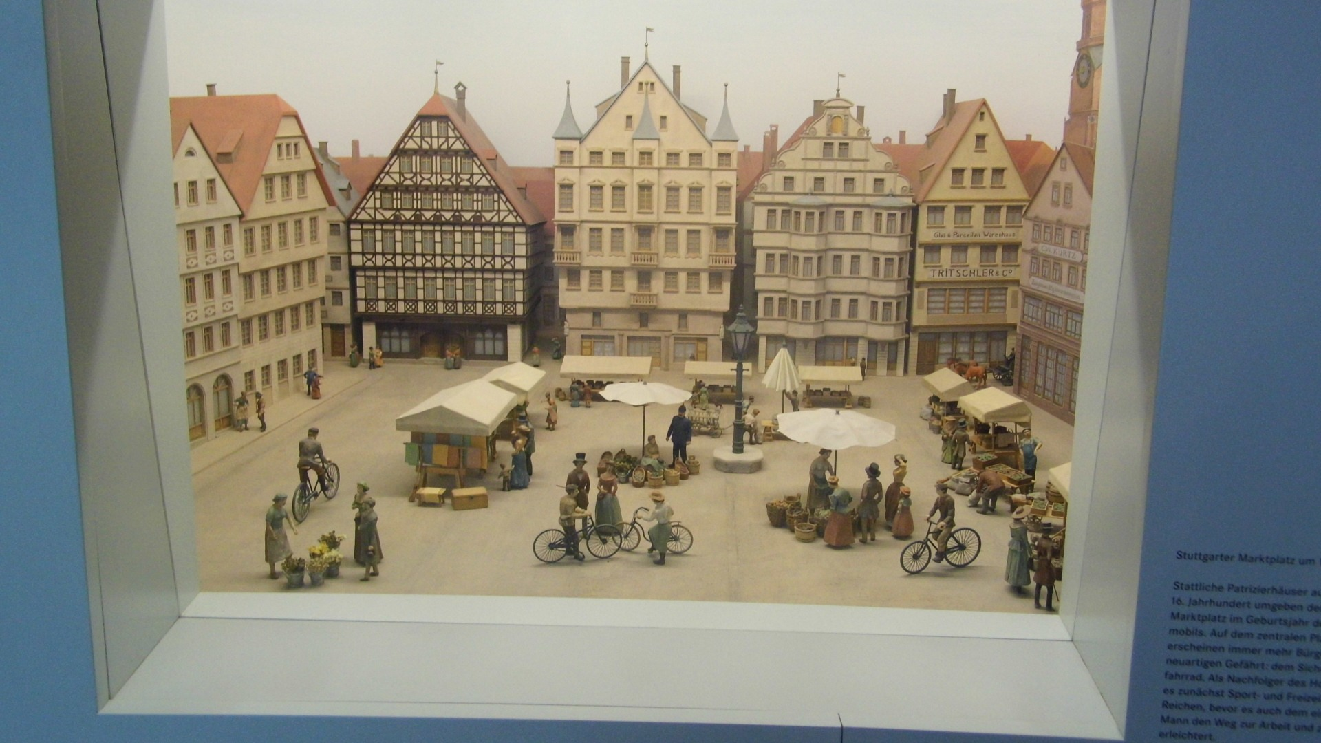 Suttgarter Marktplatz 1890