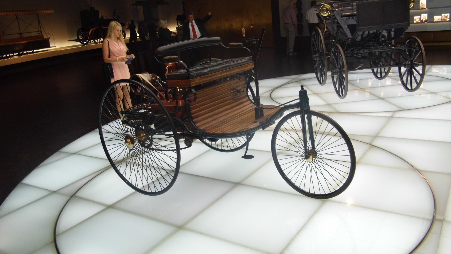 Benz-Patent Motorwagen (1886)