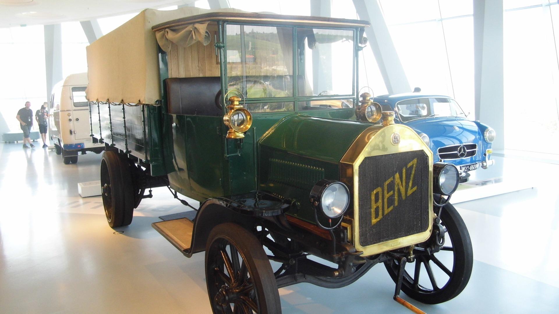 Benz 3-Tonnen-Lastwagenwagen